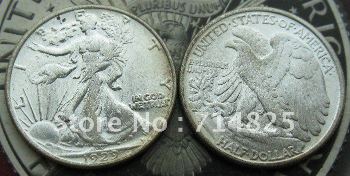 1929-S Walking Liberty Yarım Dolar UNC