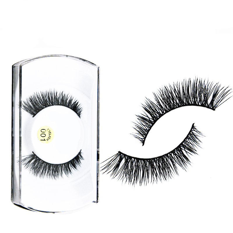 1Pairs Soft Long Makeup Eye Lashes Best Reusable False Fake Eye Lashes Makeup Natural Extension Tools False Eyelashes Cosmetics